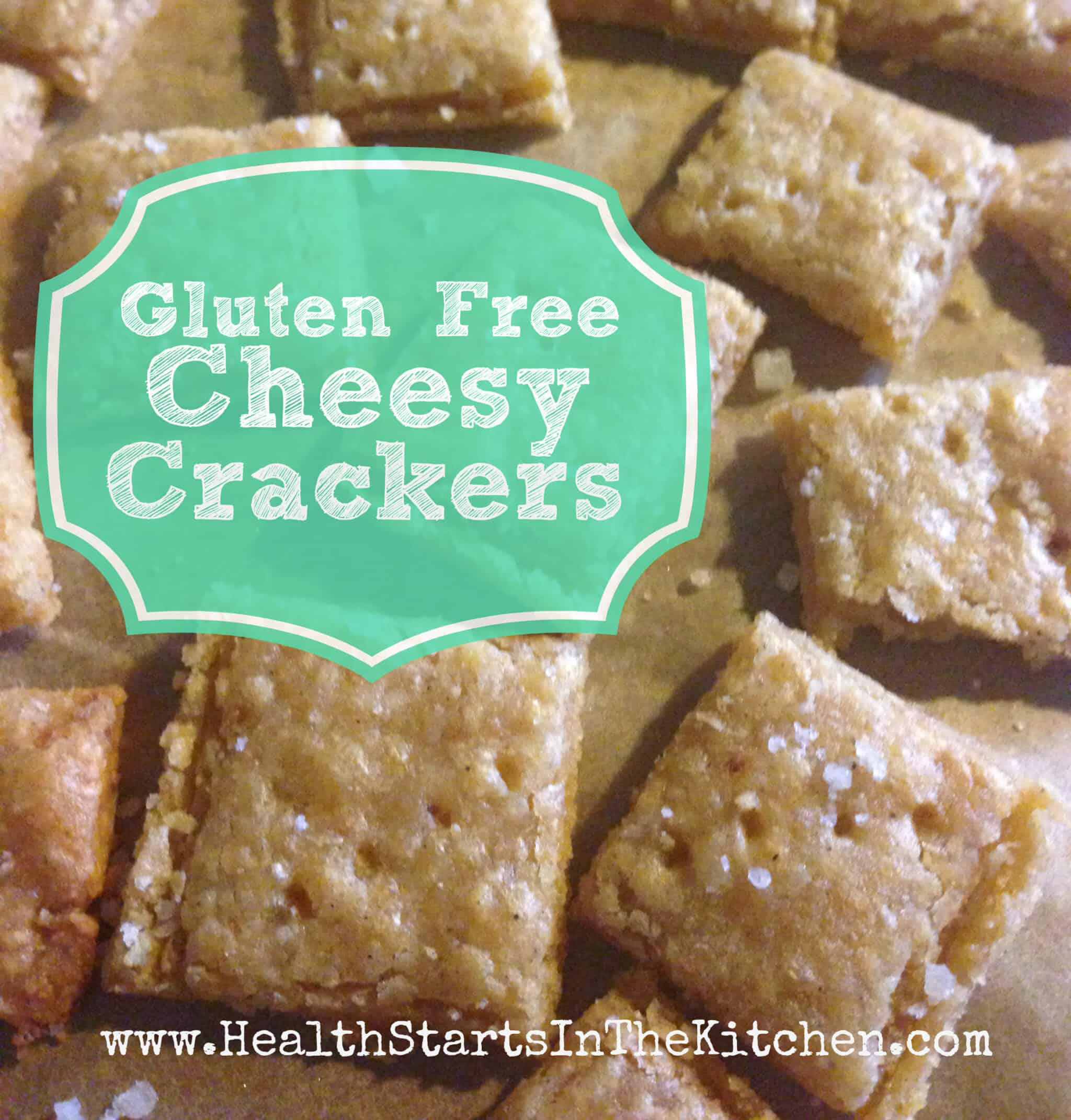 Amazing Gluten Free Cheesy Crackers