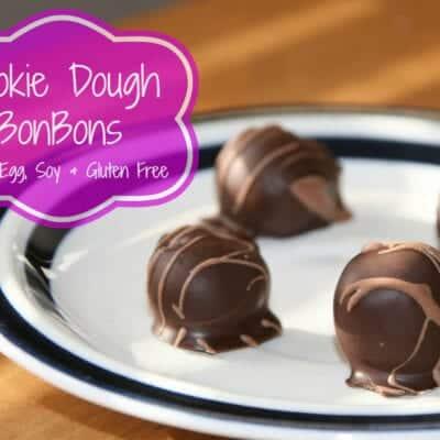 Chocolate-Cookie Dough BonBons