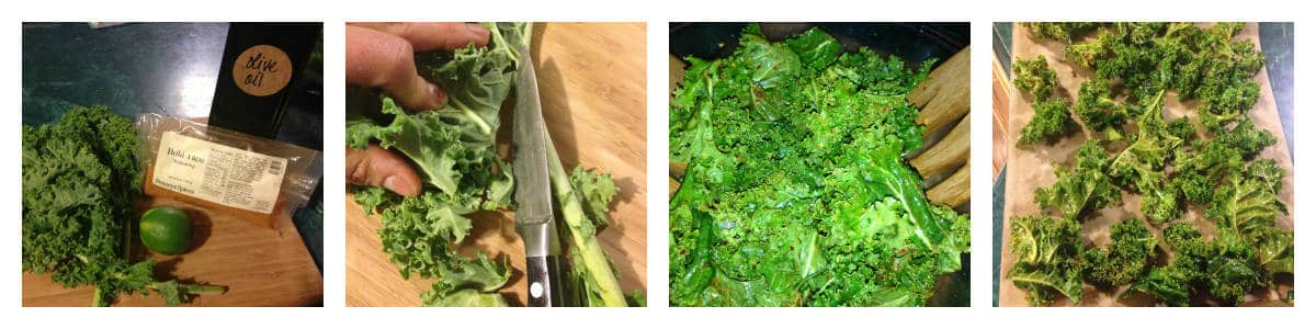Taco Style Kale Chips