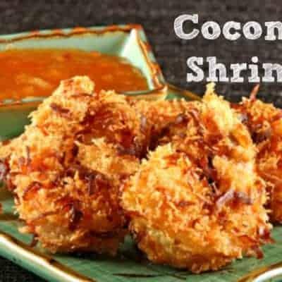Gluten, Egg & Dairy Free Coconut Shrimp