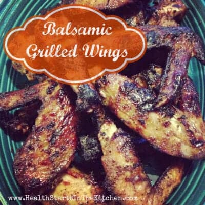 Balsamic Grilled Wings