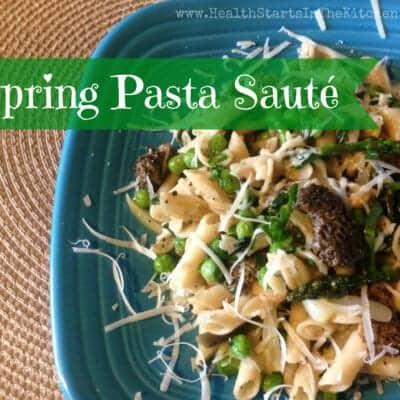 Spring Pasta Saute´