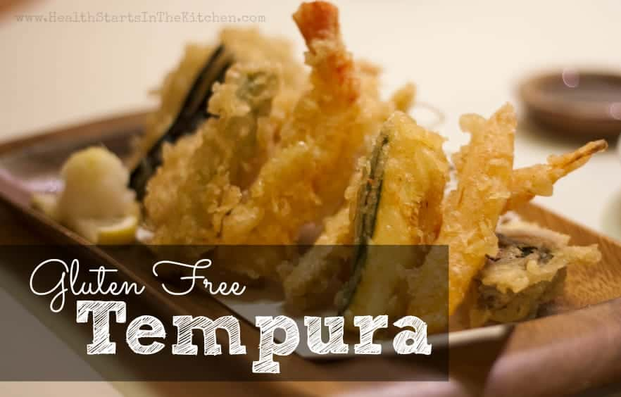 Light & Crispy Gluten Free Tempura