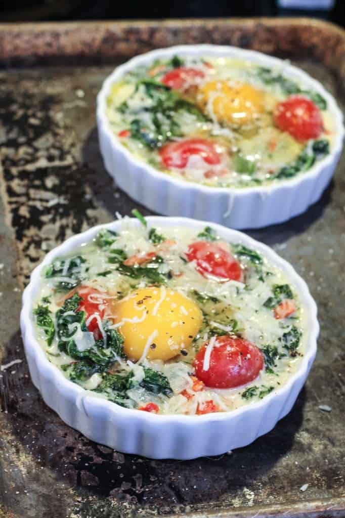 unbaked eggs