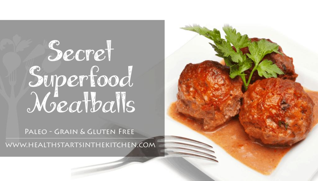 Secret Superfood Meatballs