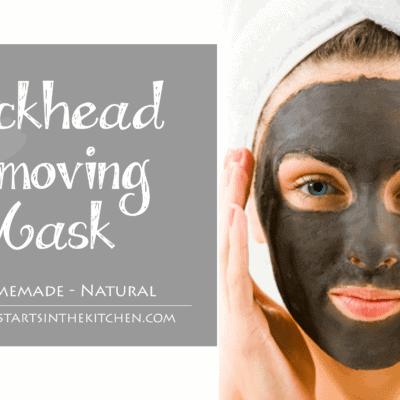 DIY Homemade Blackhead Removing Mask
