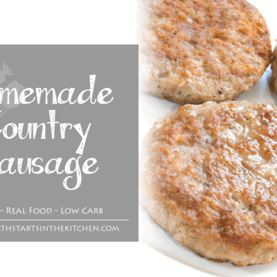 Homemade Country Sausage Seasoning