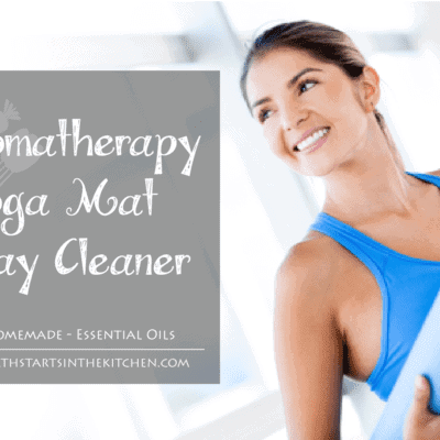 Aromatherapy Yoga Mat Spray Cleaner