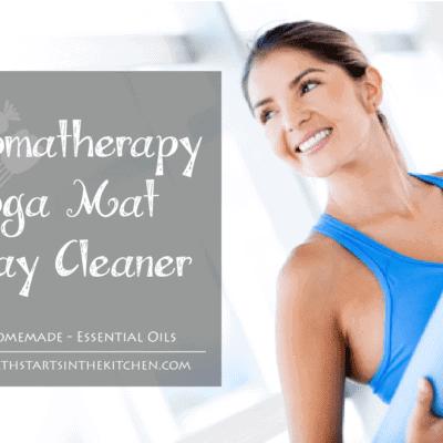 Aromatherapy Yoga Mat Spray Cleaner