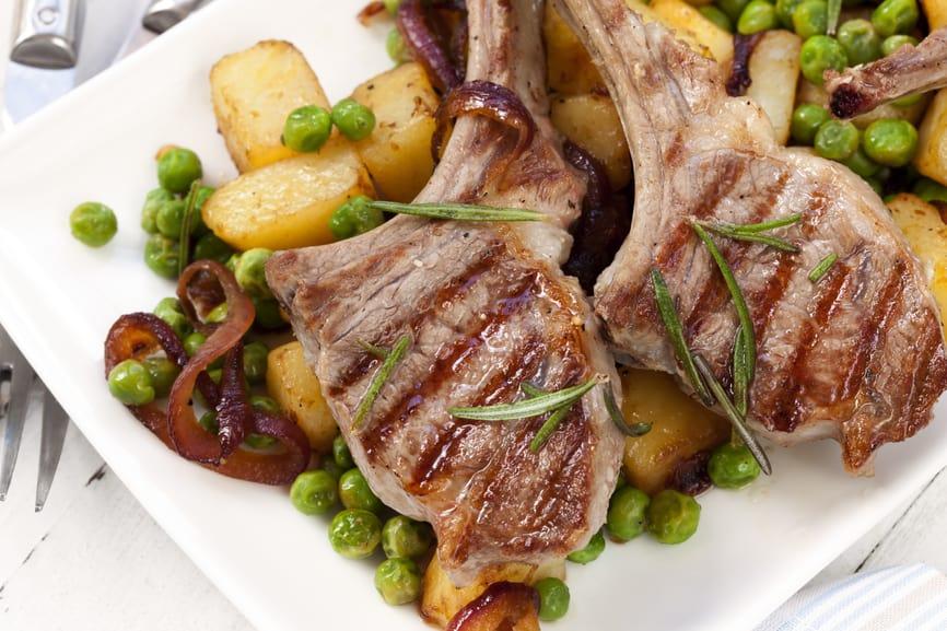 Greek Marinated Lamb Chops, Grain-free, Gluten-free, Paleo, Primal, Real Food, Healthy