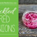 Homemade Pickled Onions. These are AMAZING, made with just a few simple ingredients and ready in 6 hours!