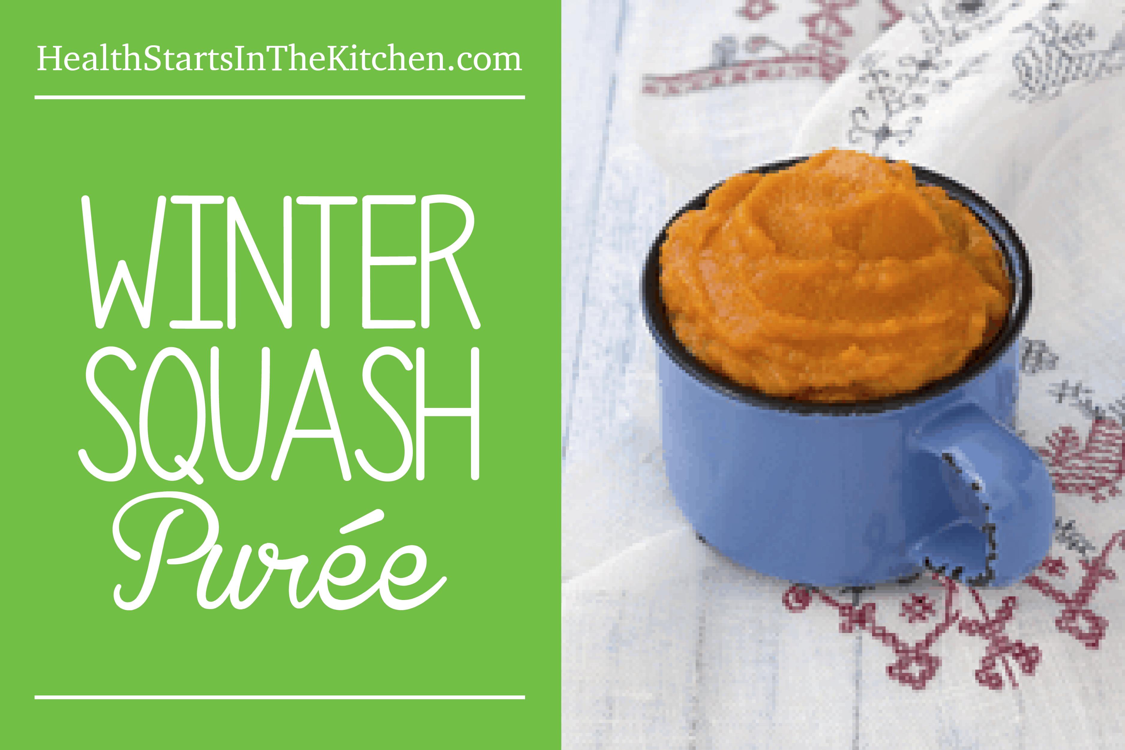 Winter Squash Puree