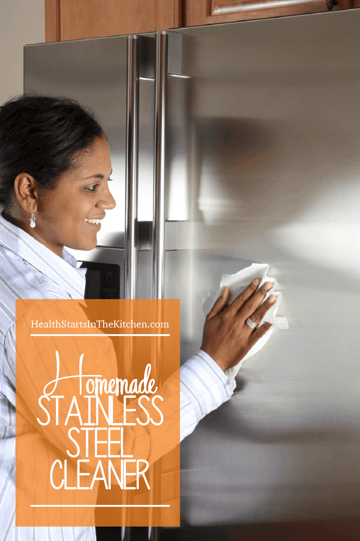 OMG this is the BEST Homemade Stainless Steel Spray Cleaner! All-Natural & smells