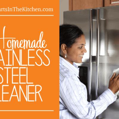 Homemade Stainless Steel Cleaner Spray
