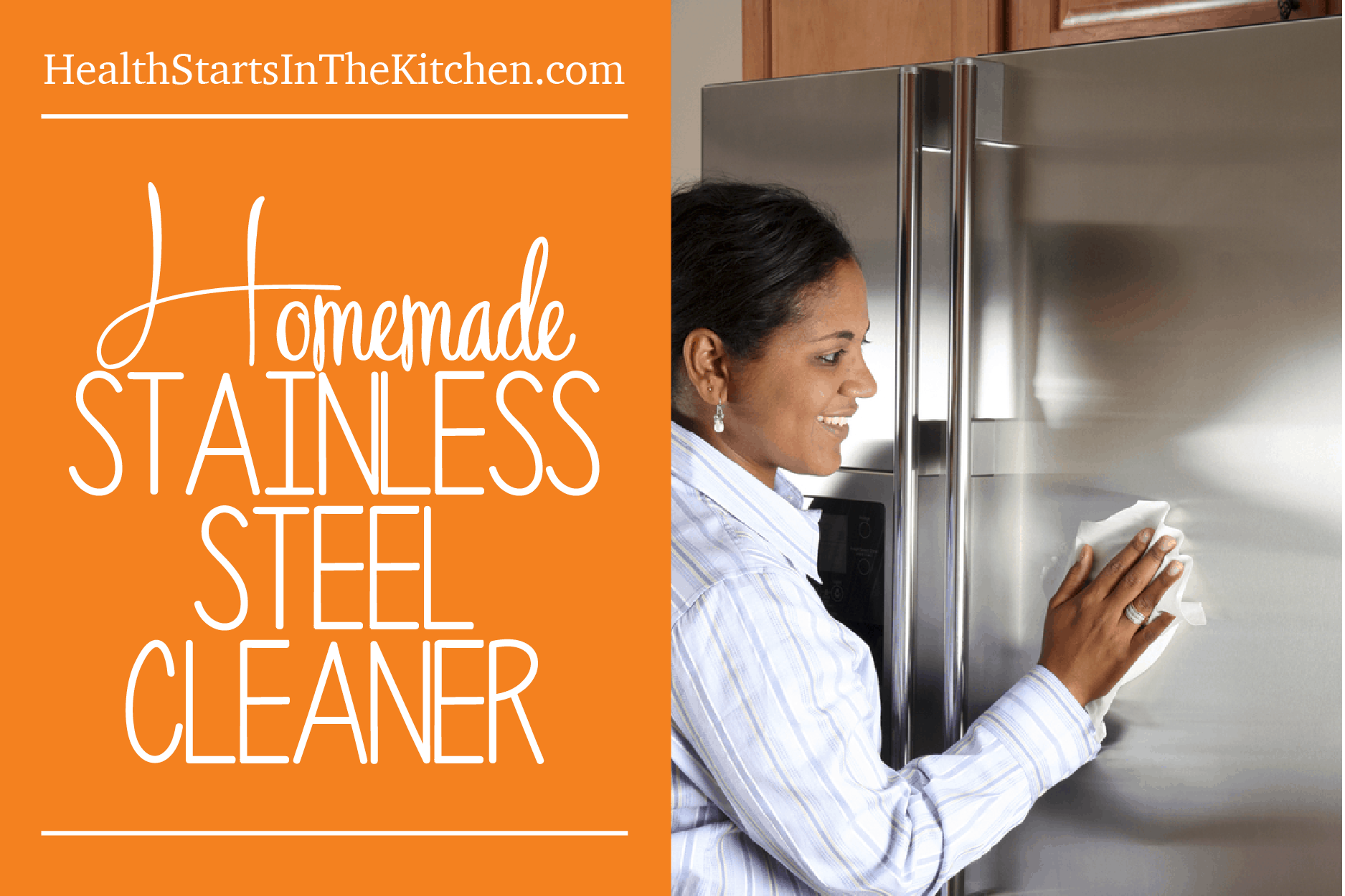 Homemade Stainless Steel Cleaner Spray