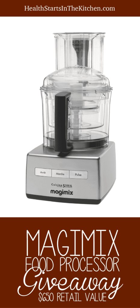 Magjmix 5200xl Food Processor Giveaway by Health Starts in the Kitchen