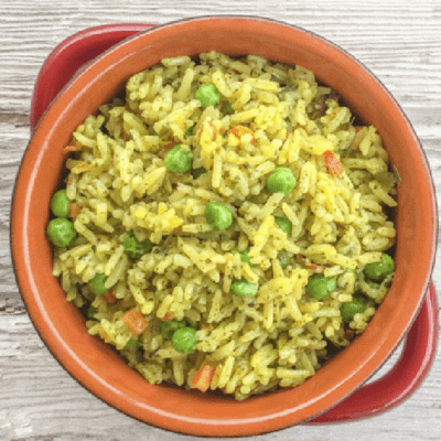 Fool-Proof Pressure Cooker Rice Pilaf Recipe
