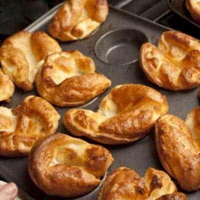 Grain Free Yorkshire Pudding; Paleo & Vegetarian Friendly