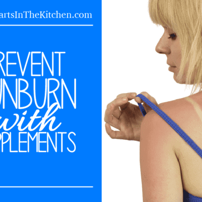 Prevent Sunburn with 6 Supplements