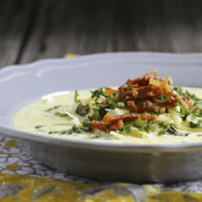 Wild & Wonderful Ramp Chowder {Gluten-Free with Dairy-Free & Vegan Options)