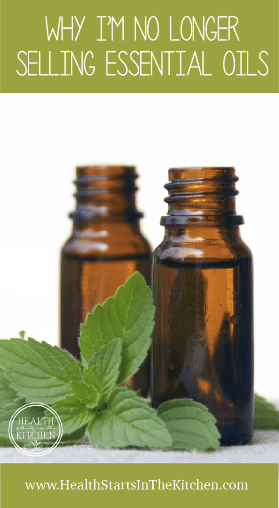 Why I'm No Longer Selling Essential Oils