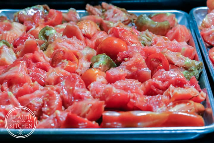 Roasted Tomato Meat Sauce - Step 1
