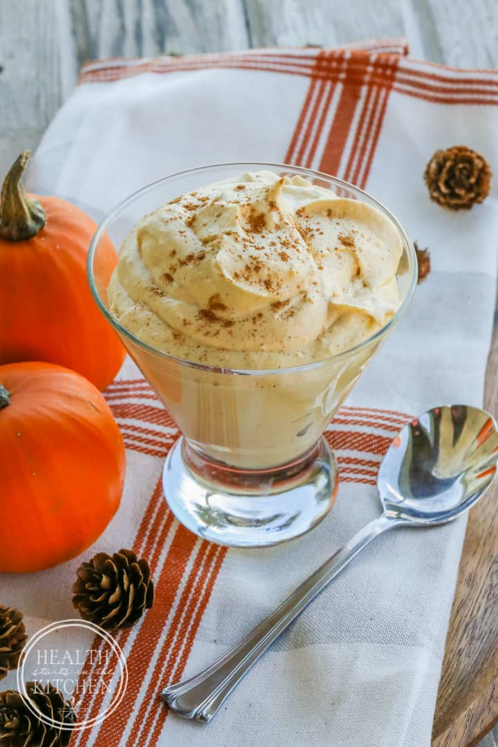 Pumpkin Cheesecake Fluff {Primal & Low-Carb}