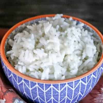 Always Perfect {5-Minute} Pressure Cooker Rice