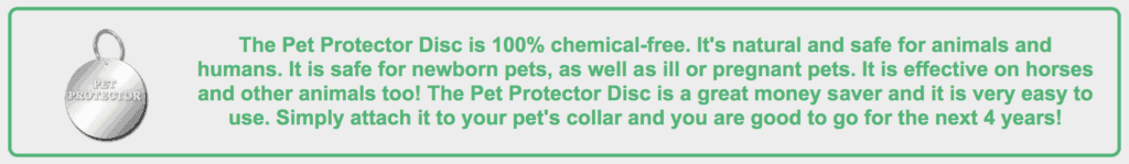 Pet Protector; The Best Non-Toxic Way to Prevent Fleas, Ticks & Mosquitos
