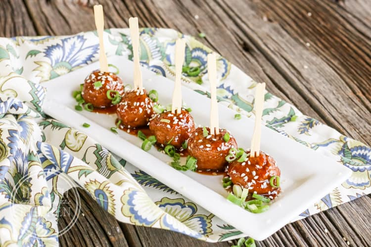 Asian Pork Meatballs {Grain/Gluten-Free & Paleo}