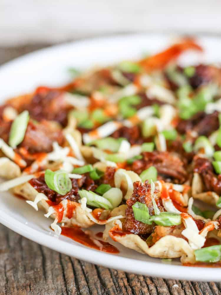 Smoked BBQ Pork Nachos