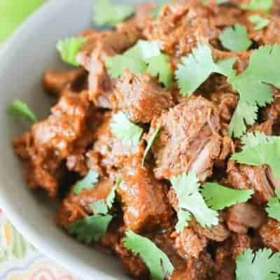 Mexican Braised Beef {Oven, Pressure Cooker or Slow Cooker}