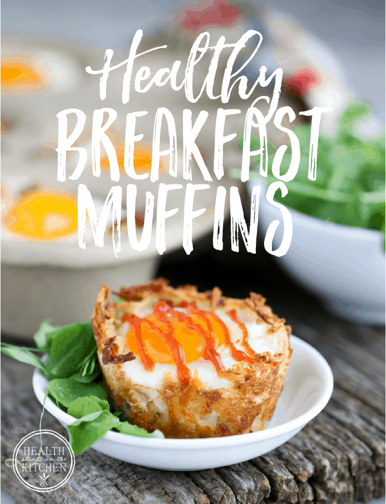 Healthy Gluten Free Breakfast Muffins