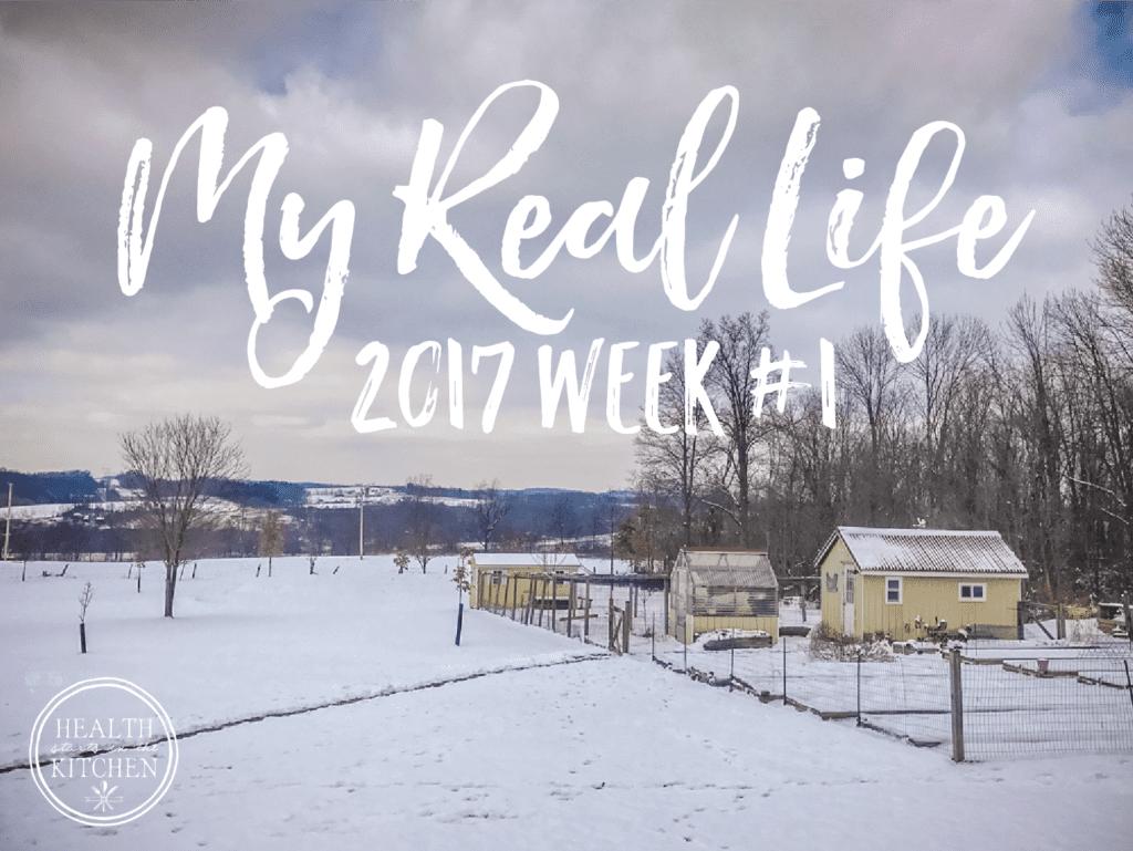 My Real Life: 2017 Week #1