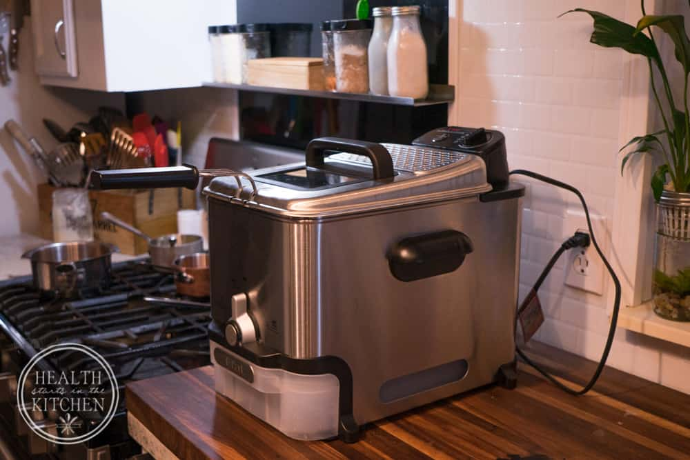 Worlds BEST deep fryer with EZ automatic fat filtration system! Classic Buffalo Wings {Low-Carb & Paleo} with Gluten-Free Breading Option