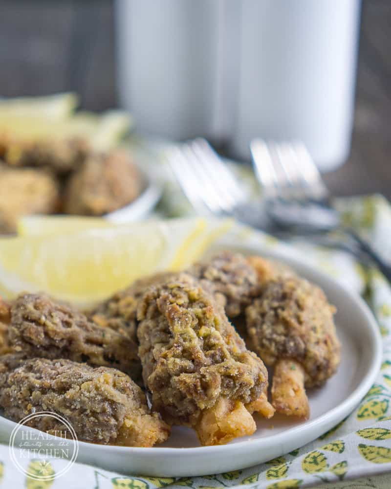Fool Proof Frying - Breaded Morel Mushrooms {Gluten Free}