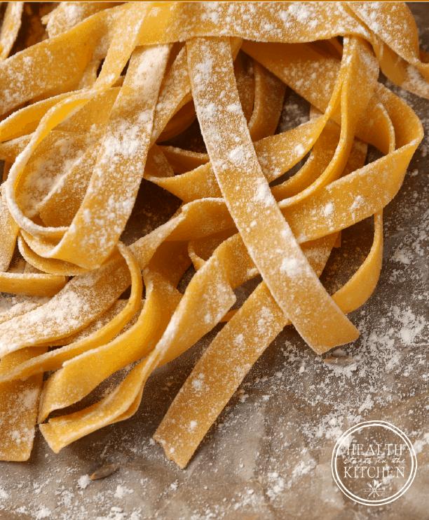 Cassava Flour Pasta Dough {Paleo & Nut-Free} - Perfect for 21DSD, Whole30 and Plant Paradox dietsCassava Flour Pasta Dough {Paleo & Nut-Free} - Perfect for 21DSD, Whole30 and Plant Paradox diets