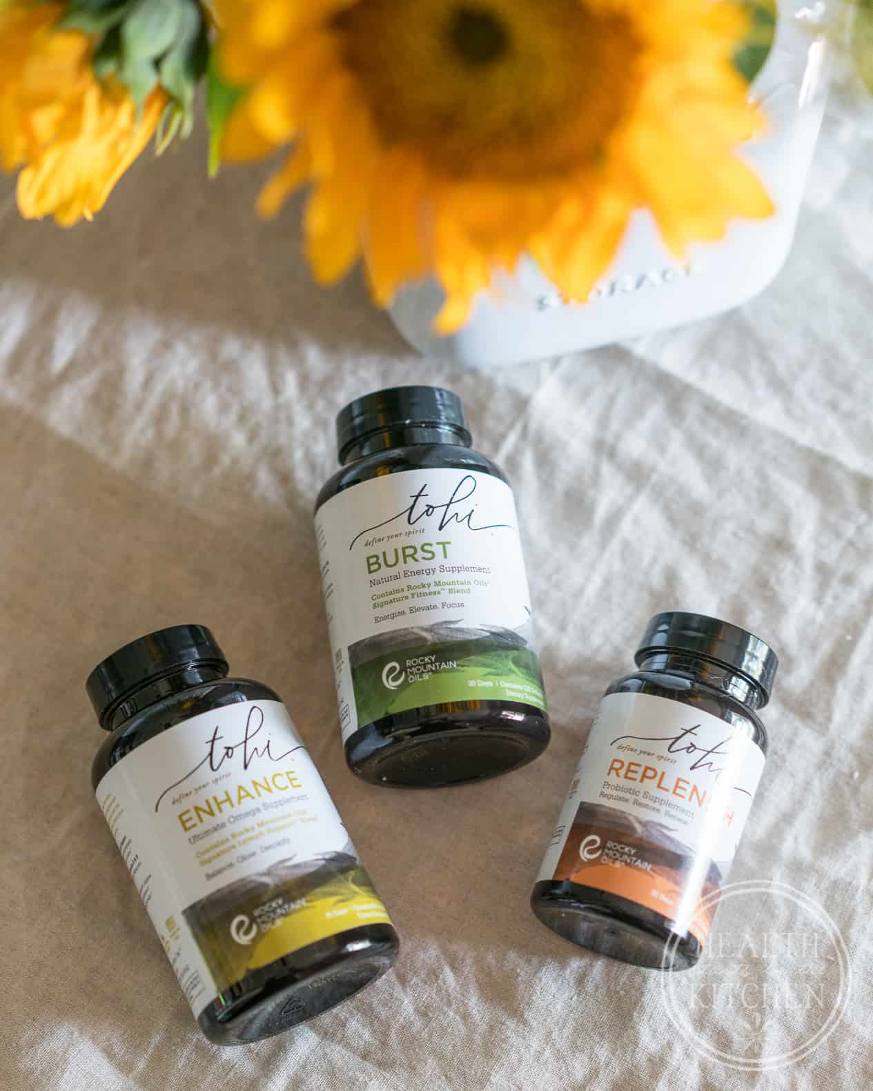 Essential Oil Infused Supplements: Tohi By Rocky Mountain Oils