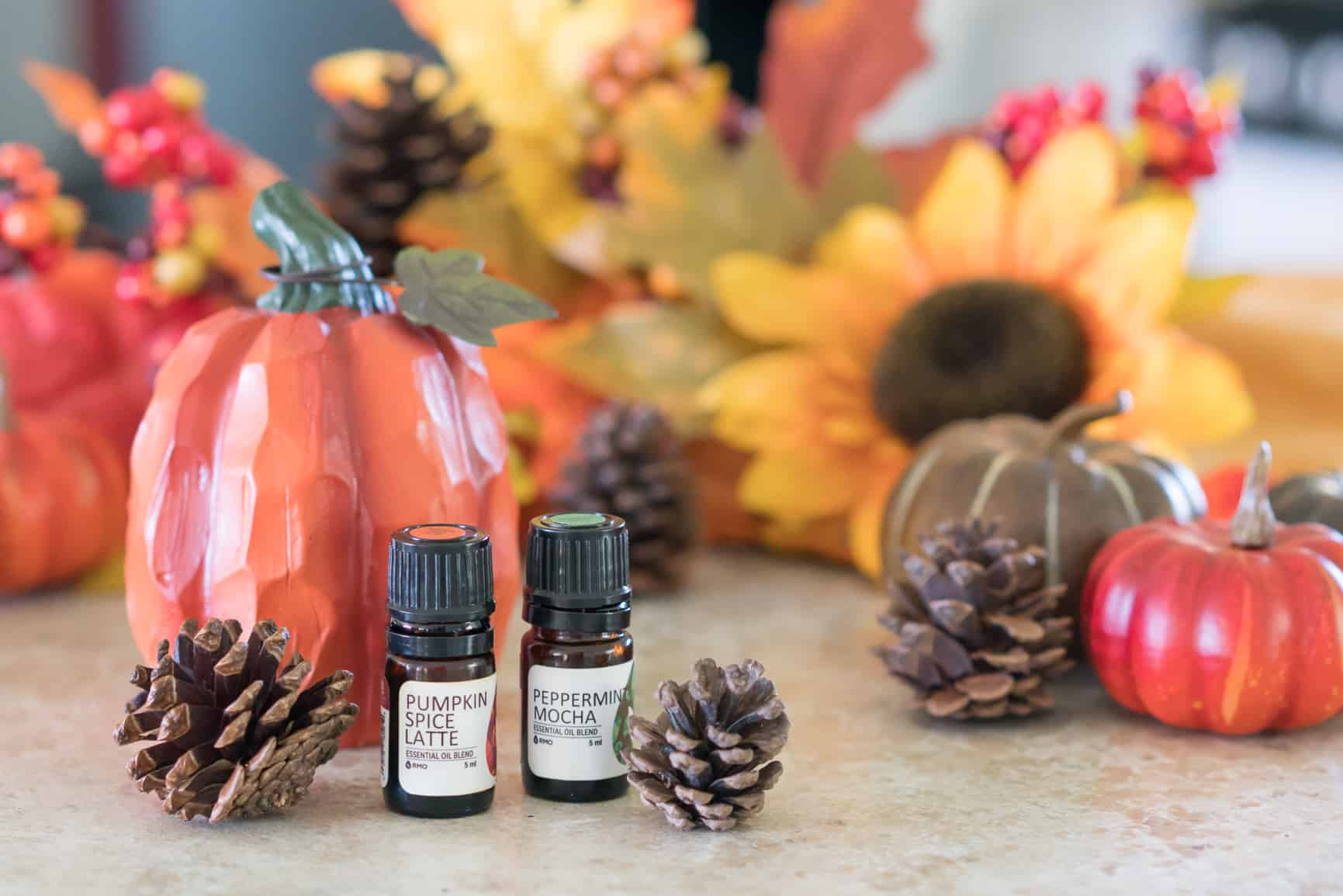 Pumpkin Spice Latte Non-Toxic Cleaning Spray