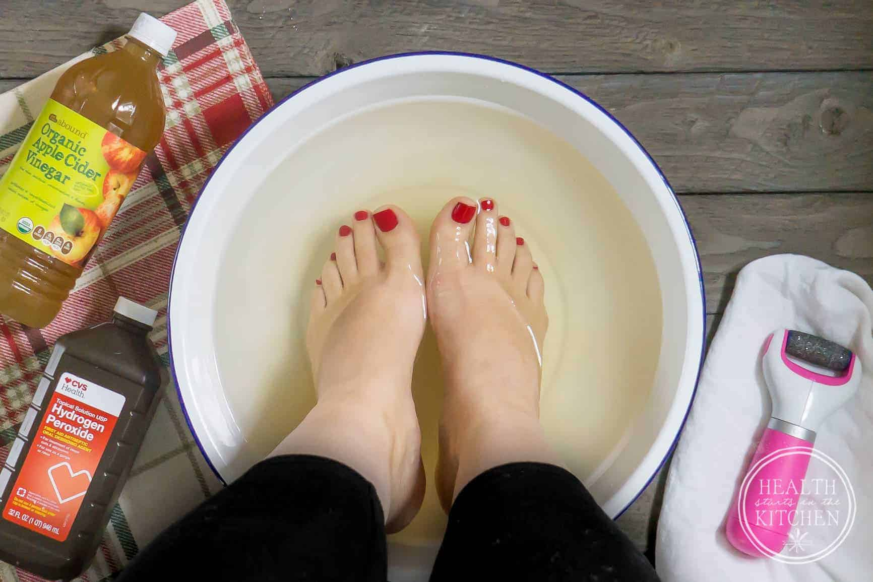 3884fe56901f How to Have Soft Feet All Year Long & DIY Homemade Foot Soak ...