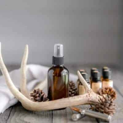 All Natural Scent Away Hunting Spray made with Essential Oils