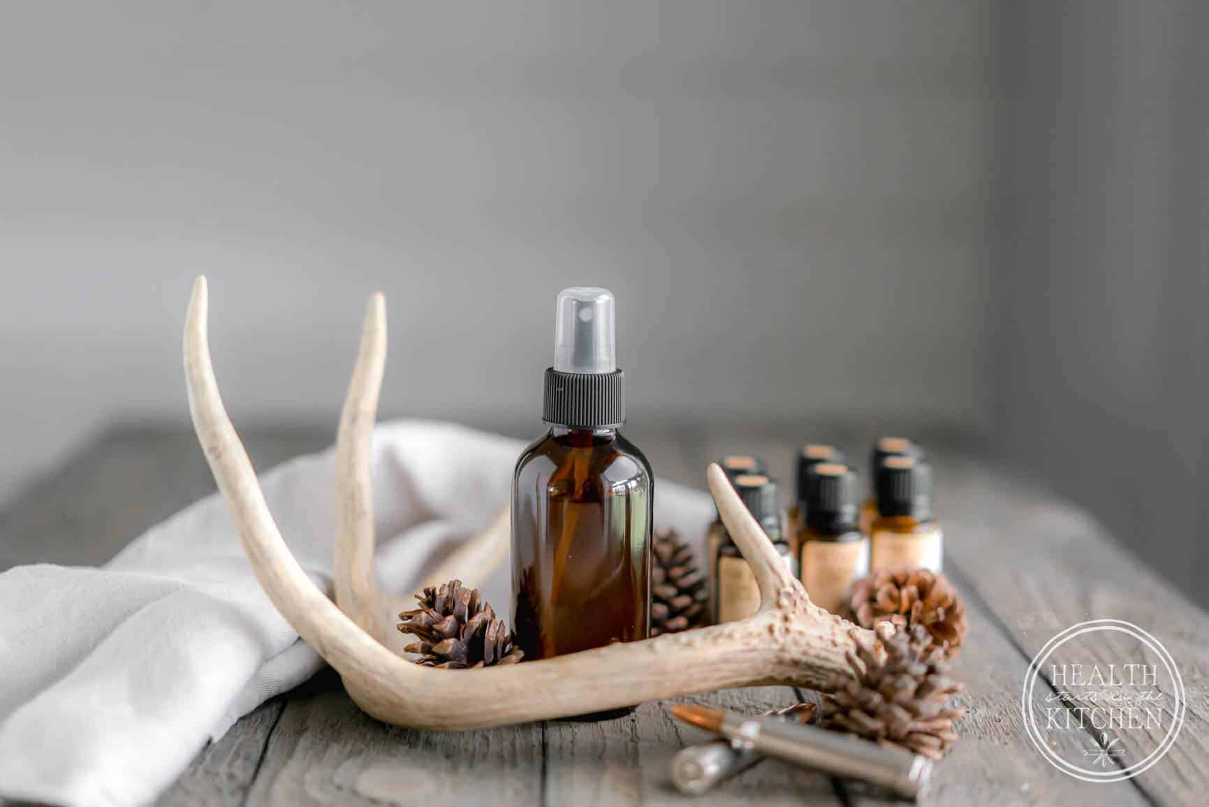 DIY Scent Away Hunting Spray made with Essential Oils