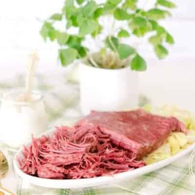 Low-Carb Keto Pressure Cooker Corned Beef Brisket