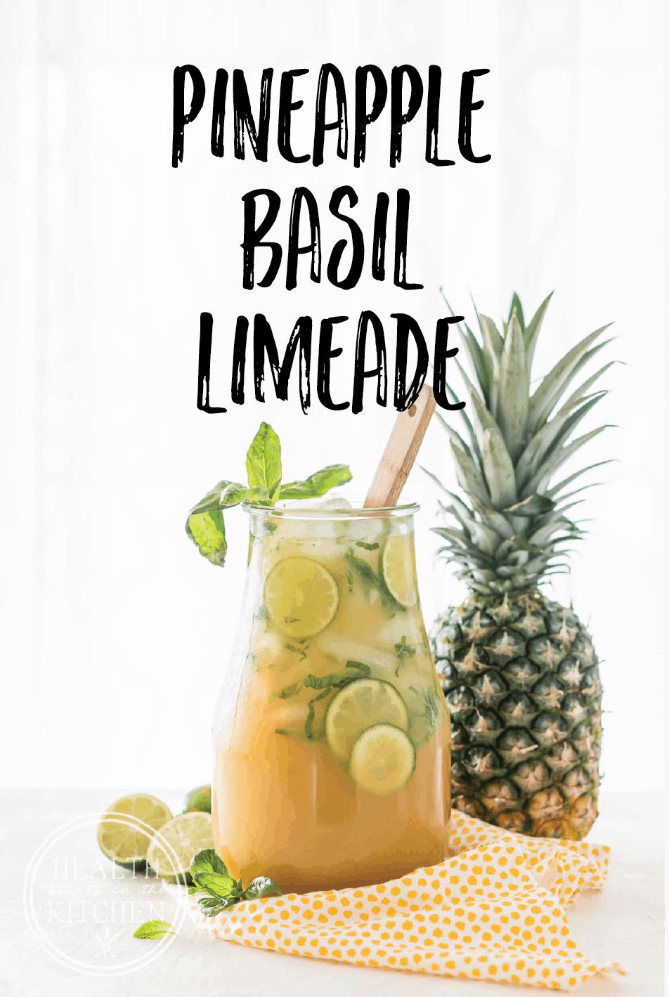 Pineapple Basil Limeade