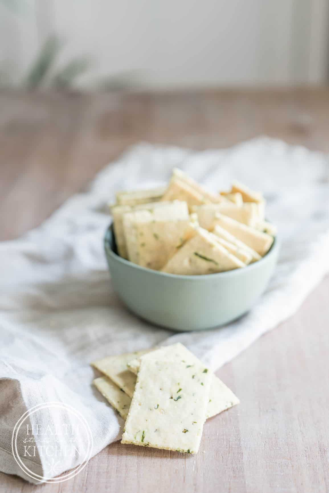 Creme Fraiche Ramp Crackers