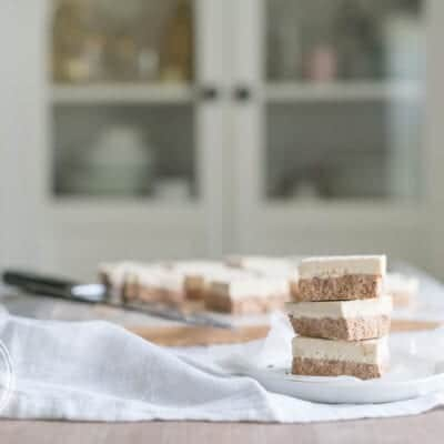 Keto Mocha Latte Fat Bomb Bars