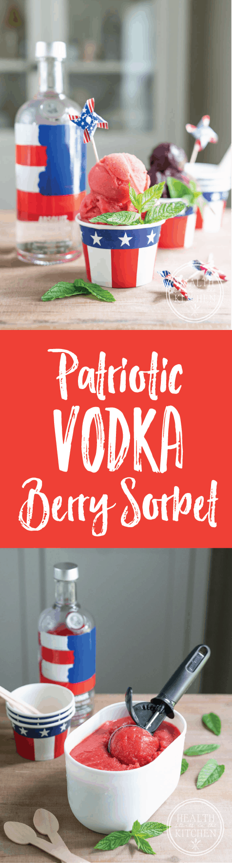 Absolut Patriotic Vodka Berry Sorbet