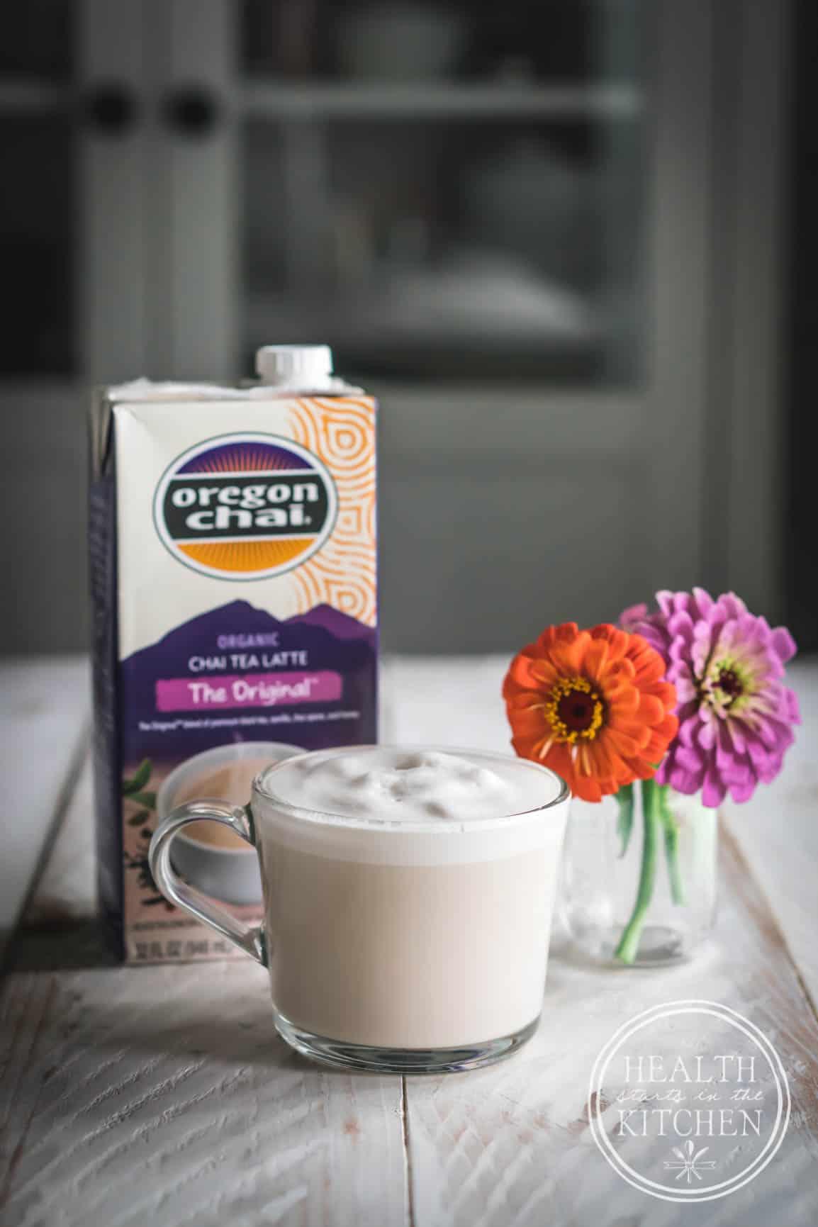 Chai Tea Apple Custard Pie, PLUS How to Make the Perfect Chai Tea Latte!
