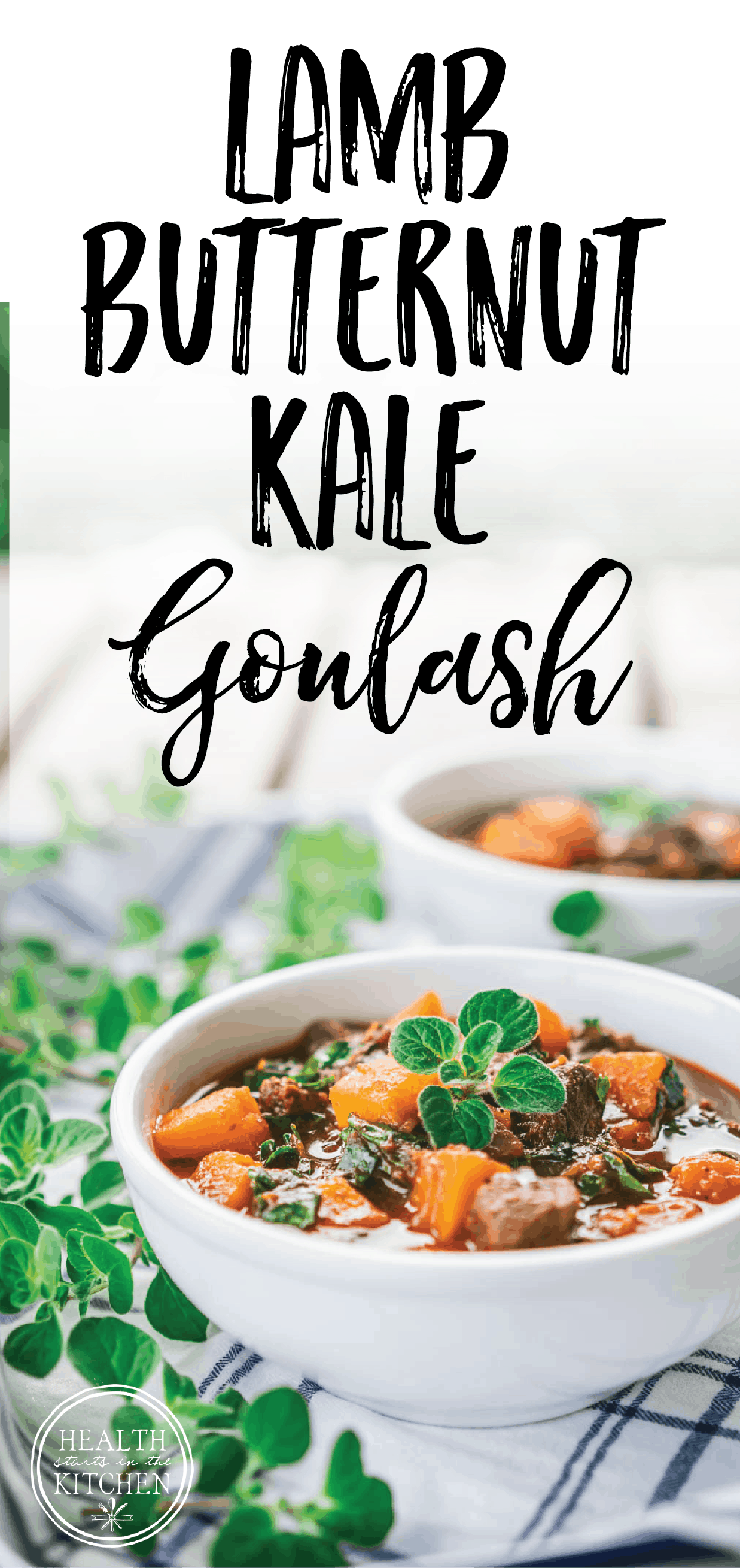 Lamb Butternut Kale Goulash