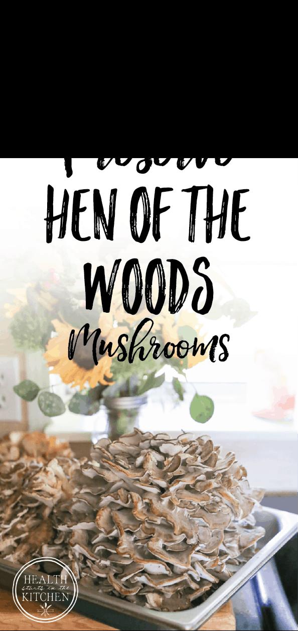 5 ways to Preserve Maitake Hen of the Woods Mushrooms